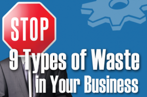 Nine Types of Waste in Small Businesses