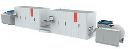 Océ ColorStream 3700 full color high speed inkjet printer.