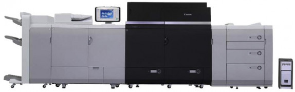 The imagePRESS C8000VP Color Digital Press from Canon Solutions America.