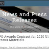 GPO Awards Contract for 2020 U.S. Census Materials