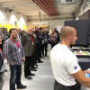 Attendees had the opportunity to see live demonstrations.