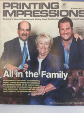FLM Graphics family members were on the cover of the August 2013 issue of Printing Impressions. Ken Holsclaw is president of Phase 3 Marketing and Communications. Phase 3 acquires FLM Group.