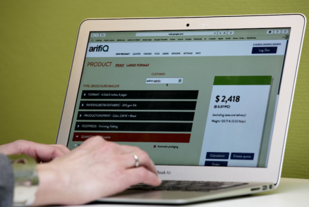 HP PrintOS Users Can Eliminate Major Delays on Ad-Hoc Jobs with arifiQ Integration