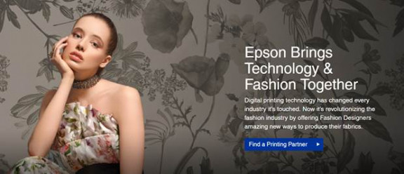 Epson Launches Digital Fabric Printing Microsite for Fashion Designers