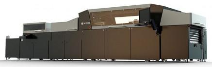 The Scodix Ultra2 Pro digital enhancement press.