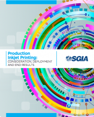 Production Inkjet Printing: Consideration, Deployment and End Results