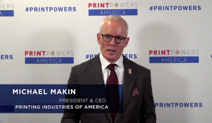 A video statement from Michael Makin in response to the tariff announcements.