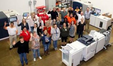 i3logix Xerox presses transactional printing