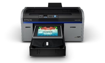 Epson is now shipping the new SureColor F2100 direct-to-garment printer.
