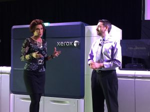 Iridesse digital press lauched by Xerox