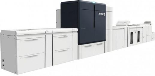 Xerox Iridesse digital embellishment press