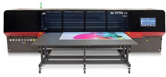 EFI VUTEk h3 LED inkjet printer installed by ScreenTech
