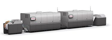 Mid-Atlantic printer Corporate Communications Group (CCG) installs new Ricoh Pro VC70000 continuous-feed inkjet press.