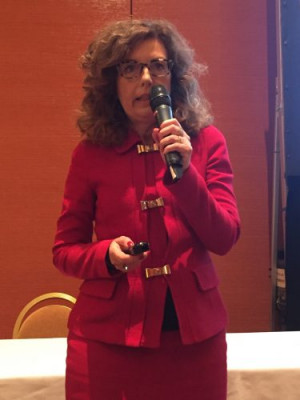 Adele Genoni of EFI Reggiani spoke at EFI Connect 2019.