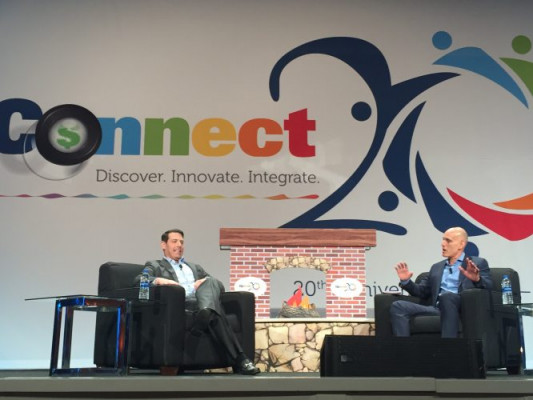 EFI CEO Bill Muir and Freeman Co. CEO at Connect 2019 conference