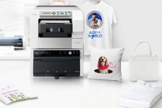 VersaSTUDIO direct-to-garment desktop printer