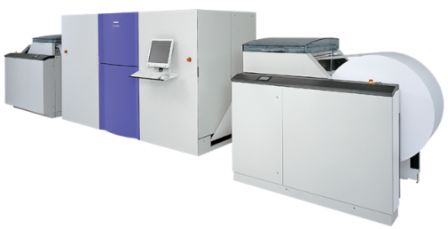 SCREEN Truepress Jet520S was purchased by DNI Corp.