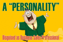 Personality Business Sales Professionals