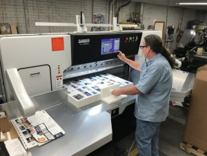 54-inch SABER X-15paper cutter at MPress.