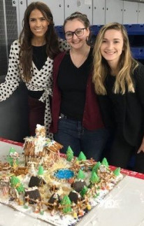 MOSAIC, gingerbread decorating contest