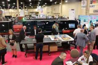 EFI demonstrates printing solutions at the ISA Sign Expo.