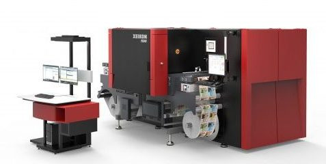 Xeikon PX3000 with the X-800 front end
