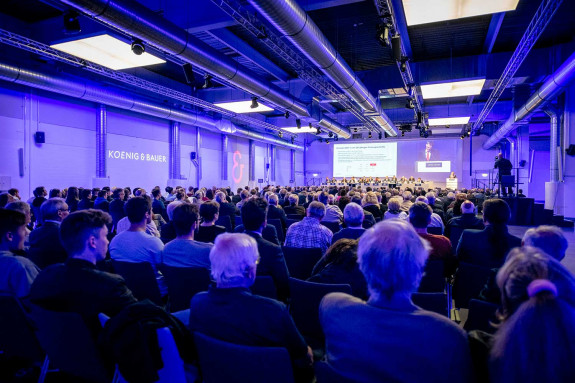 Koenig & Bauer shareholders meet for annual general meeting.