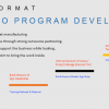 wide-format steps to program development