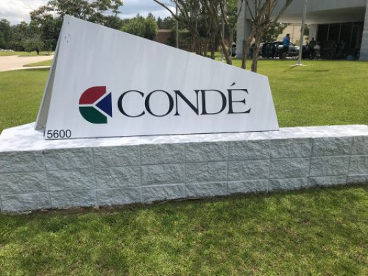 Conde Systems sign
