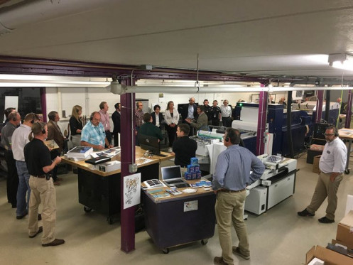 "the event showcased a variety of digital printing and finishing platforms in a ""real world"" production environment."