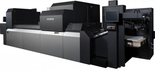 The J Press 750S sheetfed inkjet press from Fujifilm handles a 23.29.5˝ sheet size