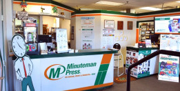 Minuteman Press Printing franchise in Rockville Centre, N.Y.