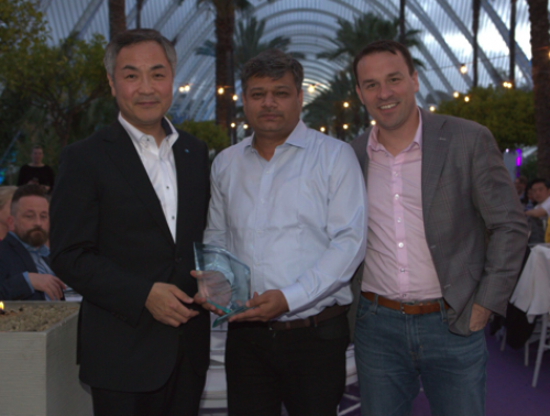 Awards were given out during the Prokom Conference, such as the Prokom Innovation Award.