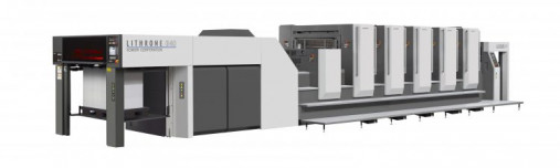 Capital Printing installed a Komori GL40 press with coater, making it the first 40˝ press installed in Austin in more than a decade.