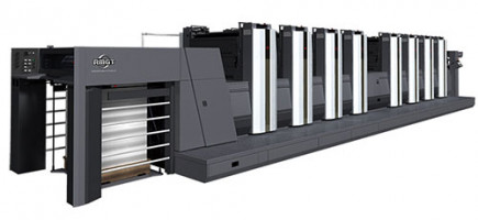 RMGT 920 series LED-UV sheetfed offset printing press