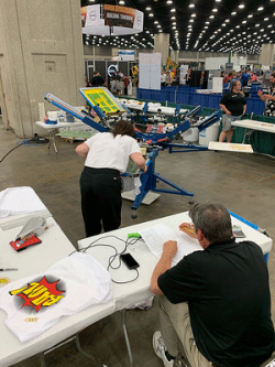 SGIA and industry leaders teamed up to support students participating in the Graphics Imaging–Sublimation and Screen Printing Technology competitions at the SkillsUSA National Leadership and Skills Conference.
