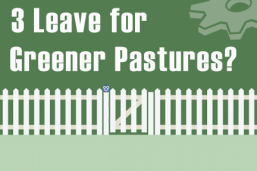 Employee changes and when employees leave for Greener Pastures.
