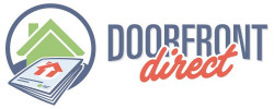 Doorfront Direct logo, Houston Chronicle launches magazine delivery with Doorfront Direct