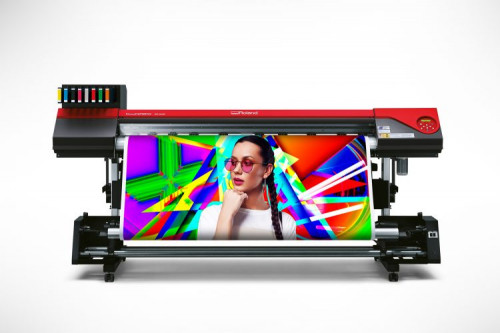 Roland DGA Announces Launch of New VersaEXPRESS RF-640 8-Color wide-format inkjet Printer