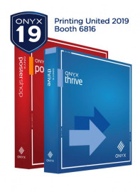 ONYX 19 software is making its US debut during PRINTING United in Dallas.