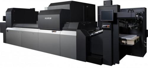 Fujifilm Debuting Innovative Inkjet Solutions at PRINTING United, including the J Press 750S sheetfed inkjet printing press.