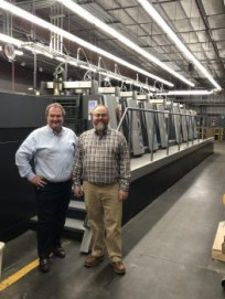 Book printer Worzalla is expanding its sheetfed offset primnting capacity withy the installation of a second Heidelberg XL 106 press.