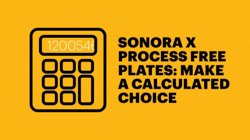 Sonora X Calculator, Kodak Helps Printers With KODAK SONORA Plate Savings Estimator