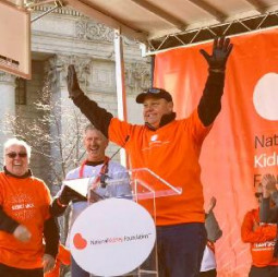 Rick Taylor will serve as Co-chair of The National Kidney Foundation's 2018 NYC Kidney Walk.