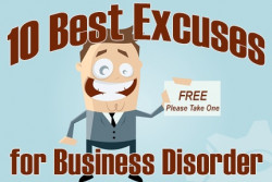 10 Best Excuses for Disorder