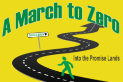 March to zero printing errors, miscommunications, general business disorder.