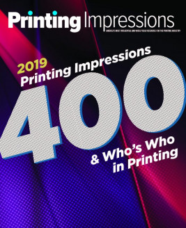 2019 Printing Impressions 400 ranks largest printing companies in the U.S. and Canada, as ranked by annual sales.