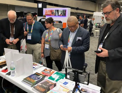 IntuIdeas Debuted Customized Interactive Training Books at PRINTING United