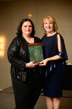 June Crespo Honored with 2019 Naomi Berber Award