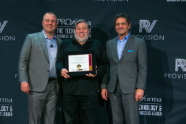 Co-Founder of Apple Steve Wozniak joined Proforma at The PPAI Expo in a celebration of technology innovation.